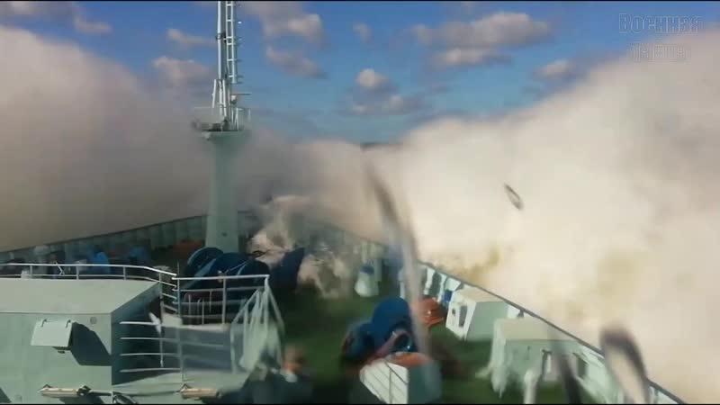 Ходовые испытания атомного ледокола Арктика в Балтийском море