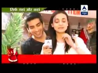 SBS 25th Dec 2012 - Sanaya Irani and Mohit Monayas Christmas Shopping Sanaya s