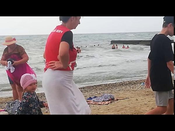 Архипо осиповка 29 09 2020 большая волна До этого все прекрасно Тепло Вода была идеальная