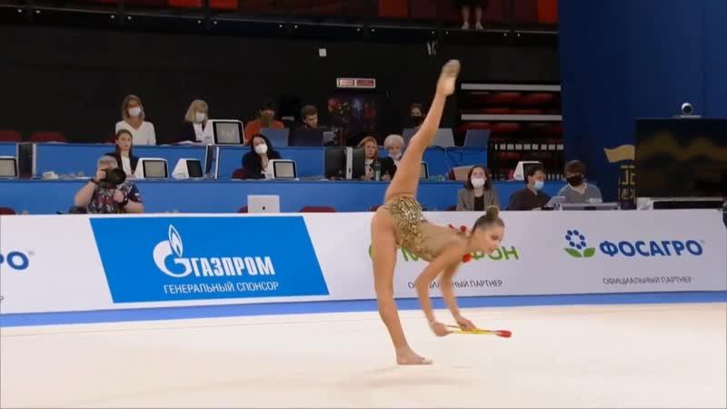 Арина Аверина булавы II онлайн турнир 2020 Россия Москва