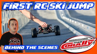 TEAM CORALLY KRONOS XTR - First Ever RC Ski Jump - Behind the Scenes