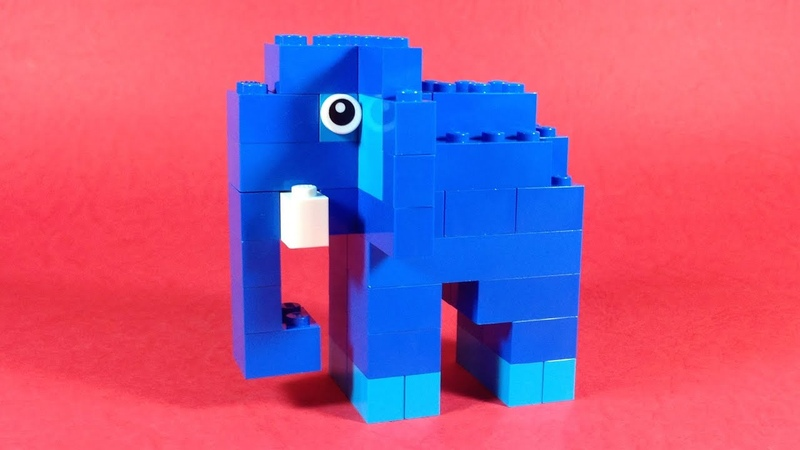 How To Make Lego ELEPHANT - 10664 LEGO® Bricks and More Creative Tower Tutorial