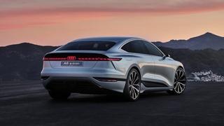 Audi A6 e-tron concept, 2021.