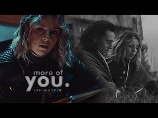 ✘ more of you. [loki/sylvie]