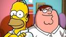 Peter Griffin vs. Homer Simpson - Rap Battle! - ft. Chris Voiceman Joe Cliff Thompson