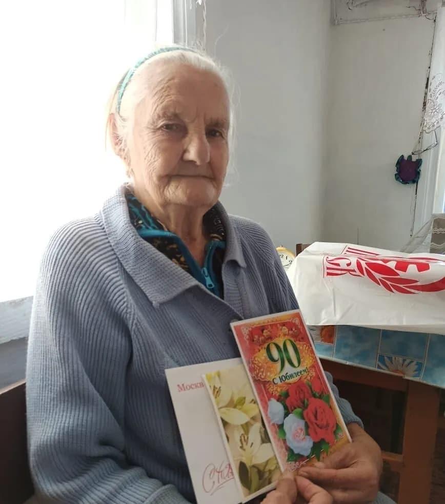 Петровчанка Таиса Степановна КРАСНИКОВА отмечает 90-й день рождения