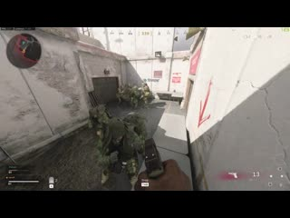 I was so confused when my friends said they didn't encounter this in Warzone training. Warzone