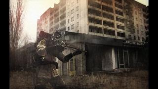 . Call of Chernobyl Приключения Тянки На Болотах № 2 Внезапная Атака На Водокаку