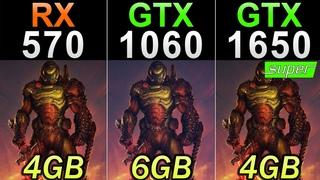 RX 570 (4GB) Vs. GTX 1060 (6GB) Vs. GTX 1650 Super | 30 Games Benchmarks
