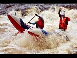 Такая разная ЧУЯ или Димыч исполняет по БОЛЬШОЙ воде [Rafting on the Chuya-river]