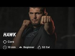 "Khabib ""Hawk"" Workout |Khabib Nurmagomedov| The Eagle| 10 minutes  workout|Beginner|Sulaman 21"