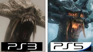 Demon's Souls Remake | PS5 vs PS3 | Graphics Comparison Trailer | 2021