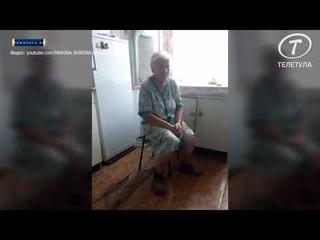 В Тульской области в жилом доме, которому больше 115 лет, обрушилась кровля