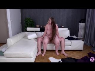 Charline - Hungry Chubby Teenie [BBW, Blonde, Big Ass, Big Tits, Blowjob, Facial, All Sex, Porn, Порно, Толстушка, Пышка]