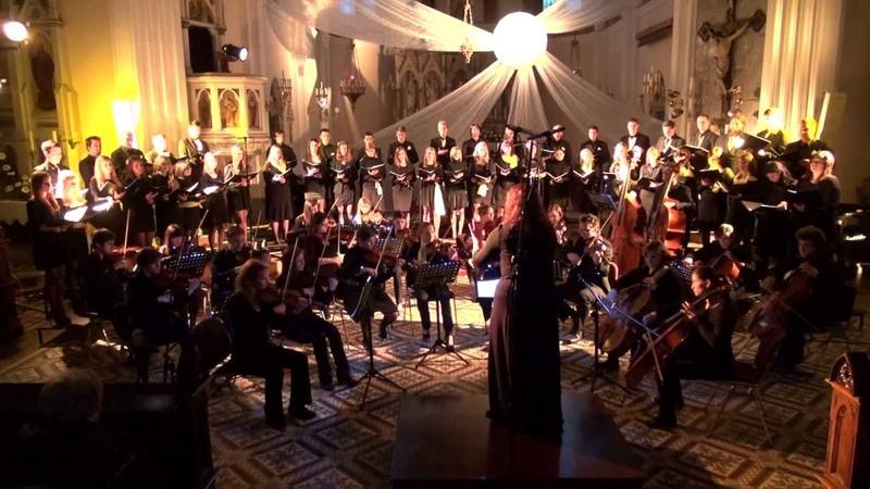 Ola Gjeilo SUNRISE MASS Sunrise Gloria Mixed choir Cum Anima conductor Monika Fele