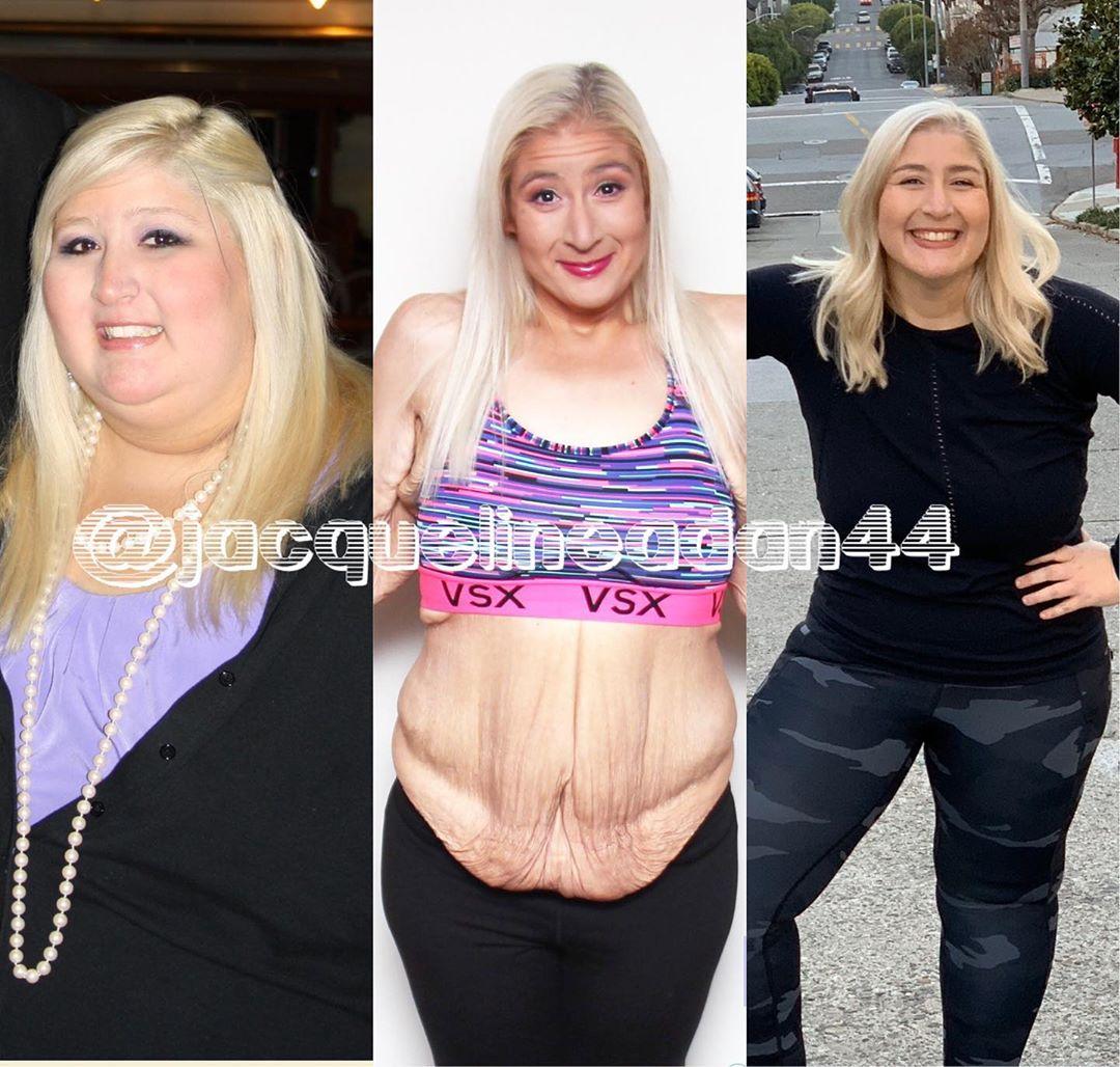 Раньше Жаклин весила более 220 кг, но ей удалось изменить себя с помощью правильного питания и тренировок