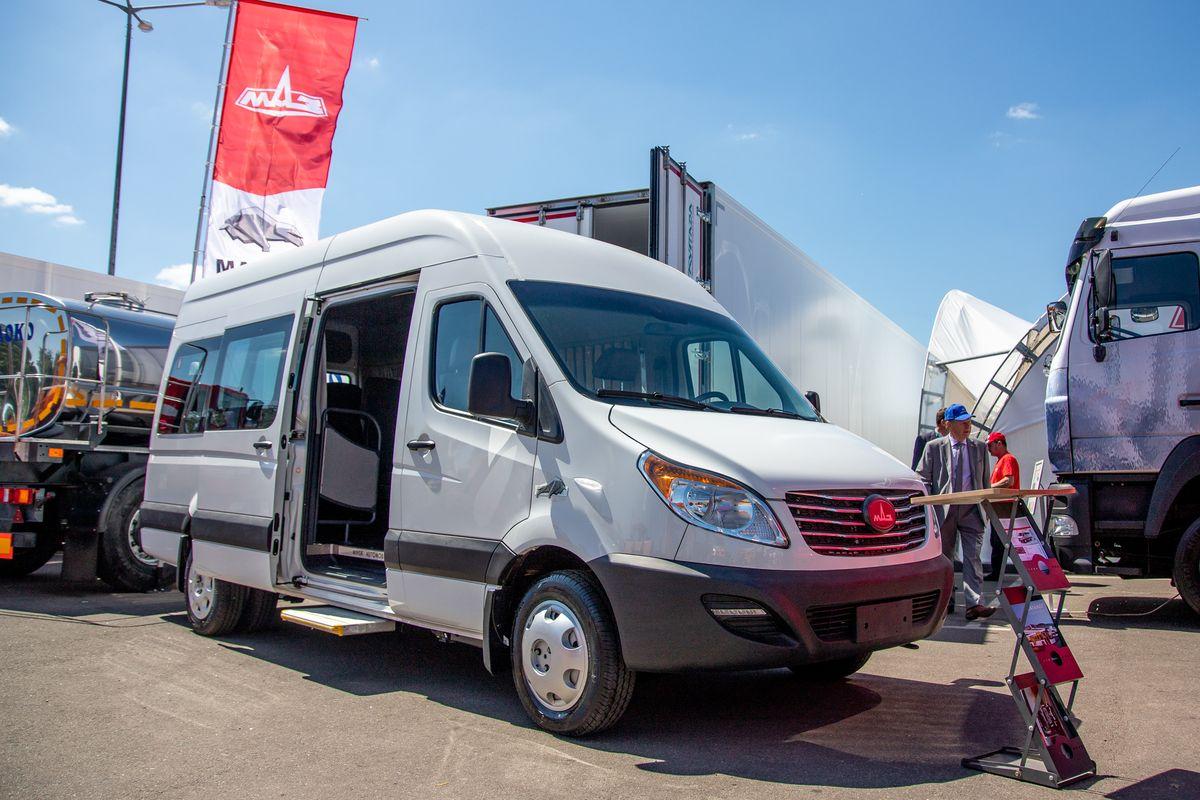 Резидент СЭЗ «Брест» планирует нарастить выпуск микроавтобусов под брендом «МАЗ»