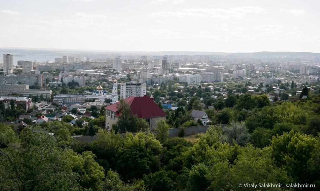Панорама Саратова с Соколовой горы 2020