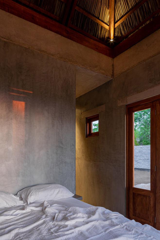 Дом стеррасой длямедитации вМексике
