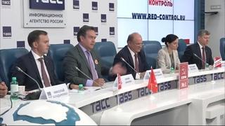Итоговая пресс конференция КПРФ по представлению программы. Платошкин.