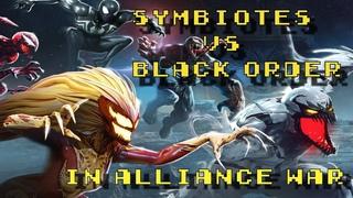 Alliance War: Symbiotes Vs BO - Marvel Strike Force