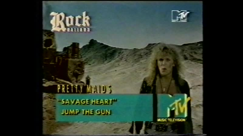Pretty Maids Savage Heart MTV
