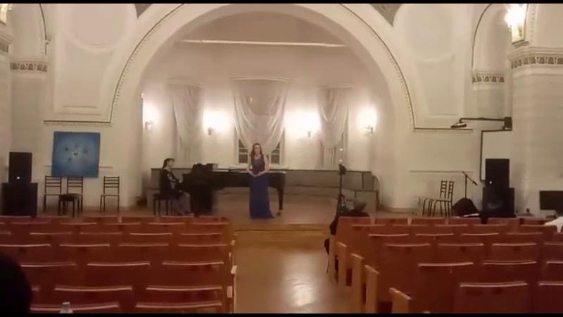 Даргомыжский Песня Ольги из оперы Русалка исполняет Дарья Аксёнова Концертмейстер А Сейтенова