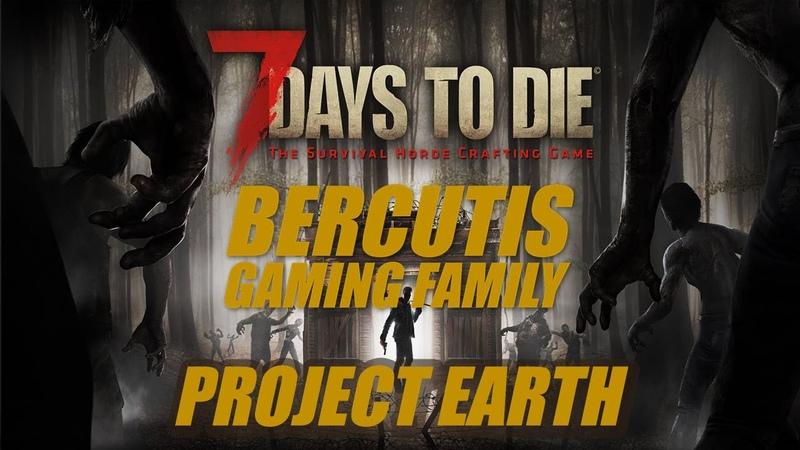 7 Days to Die A19 18 сервер PROJECT EARTH 2 серия