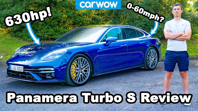 New Porsche Panamera Turbo S see how quick it is to 60mph and to annoy other drivers