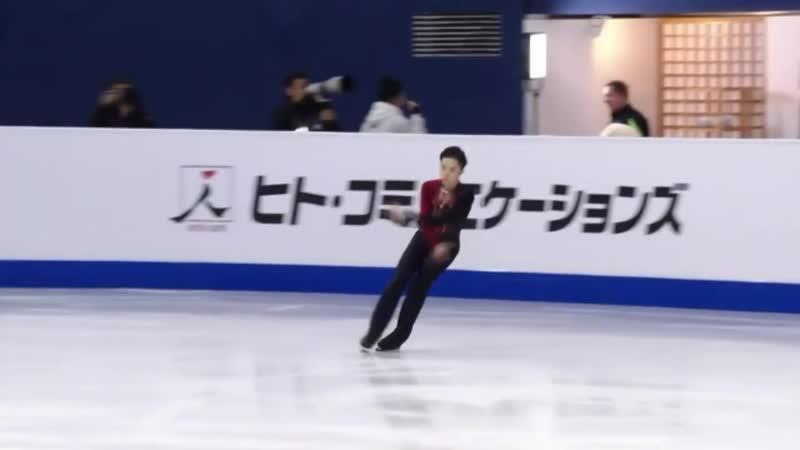 Kazuki TOMONO FS 2020 Four Continents