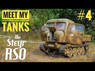 Meet my tanks #4 - The RSO, my first 1/6 build