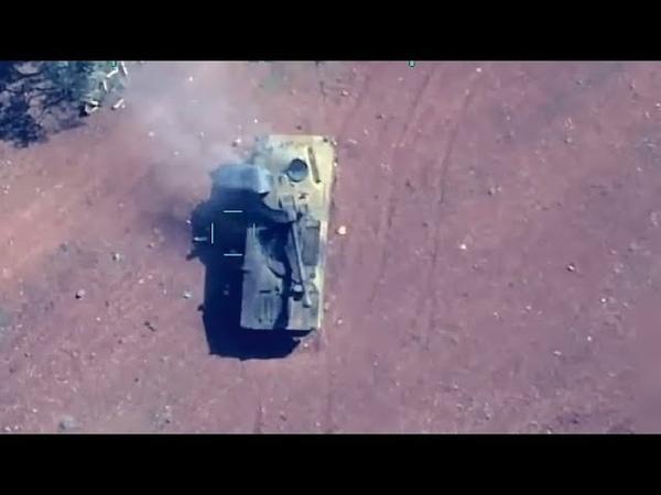 Турки Уничтожили Русские Танки в Сирии Очень много