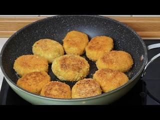 КОТЛЕТЫ из КАБАЧКОВ на сковороде! Очень Вкусно! Вкусный и Простой Рецепт!