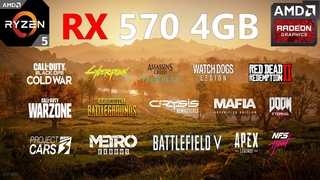 RX 570 4GB Test in 20 Games in 2020