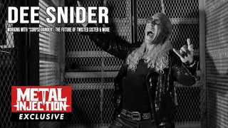 DEE SNIDER On Working With CORPSEGRINDER,  The Future of TWISTED SISTER & More | Metal Injection