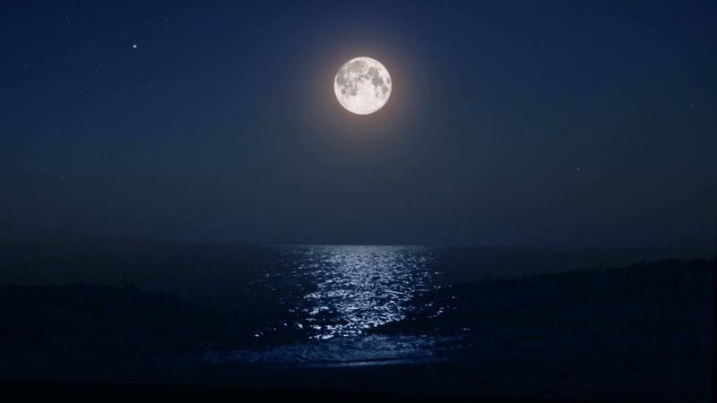 естественное фото ночной луны автомобиль отличном состоянии