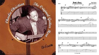"""Benny's Bugle"" - Charlie Christian (Jazz Guitar Transcription)"