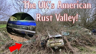 We Explore The UK's  Rust Valley Of American Classic Cars