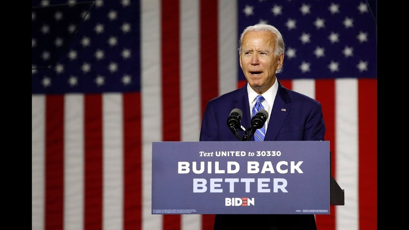 'It's a joke' for Democrats to put Biden up as candidate