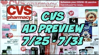 CVS AD PREVIEW (7/25 - 7/31)   ARE THERE DEALS THIS WEEK???