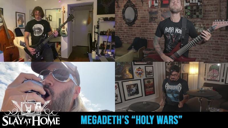MASTODON REVOCATION DETHKLOK Covers Megadeth's Holy Wars Metal Injection