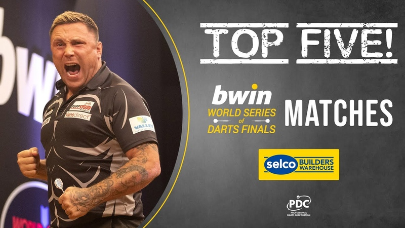 TOP 5 Best Matches from the bwin World Series of Darts Finals