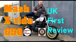 MASH X-ride 650 UK's First REVIEW