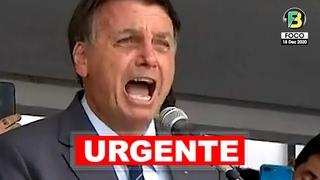 Presidente Jair Bolsonaro furioso faz forte desabafo e duras críticas à imprensa brasileira