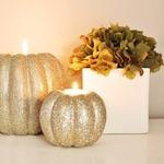 Подвесная свеча-тыковка и другие идеи