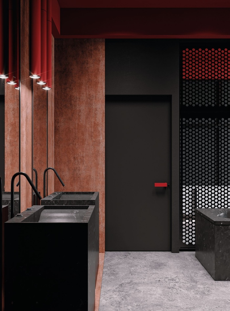 RED/S Apartment project by Alfgram Koie || 01