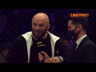 На турнире по смешанным единоборствам Fight Nights Global Winter Cup в Москве произошла драка между бойцами ММА