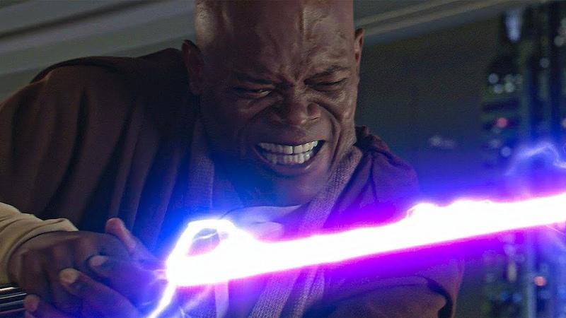 Мейс Винду против Палпатина Абсолютная власть Звёздные войны Эпизод 3 Месть Ситхов 2005