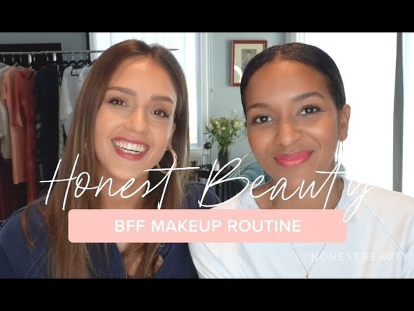 Jessica Alba s BFF Makeup Tutorial Ft. Lizzy Mathis Honest Beauty
