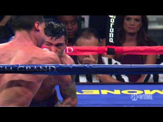 Lucas Matthysse Knocks Out Danny Garcia's Mouthpiece in Slow Motion - SHOWTIME Boxing
